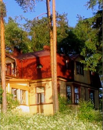 Загородный дом фабриканта на о. Риеккалансаари
